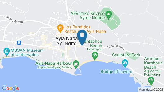 Kkaras Hotel Map