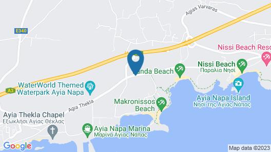 Mon Repos Design Hotel Map
