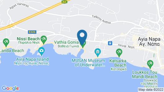 Anonymous Beach Hotel - Adults Only (16 +) Map