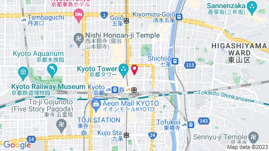 APA Villa Hotel Kyoto-Ekimae Map