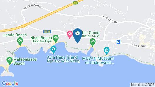 Aktea Beach Village Map