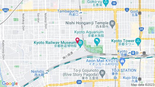 naokonoza Bettei Umekoji Map