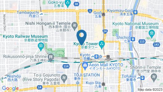 Mercure Kyoto Station Map