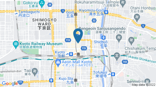 Hifumi Ryokan Map