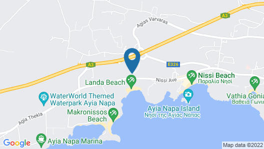Tsokkos Paradise Village Map