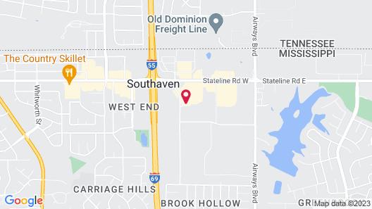 Quality Inn Southaven - Memphis South Map