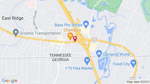 La Quinta Inn & Suites by Wyndham Chattanooga - East Ridge Map