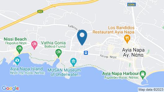 Napa Gem Suites Map