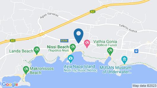 Nissiana Hotel Map