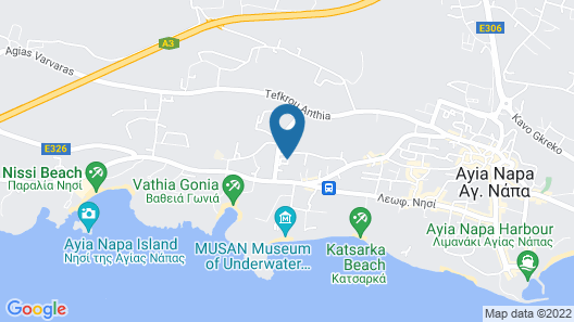 Nissini Villa #8 Map