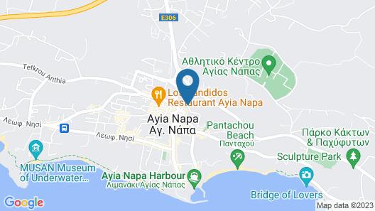 Flora Maria Hotel Map