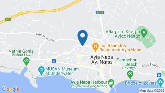 Cosmo Napa Hotel Map