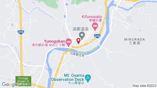 Hananoyado Nishikien Map