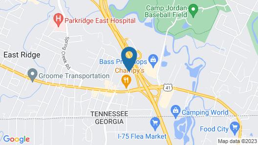 Budgetel Inn & Suites Map