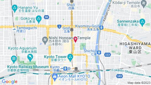 Matsubaya Ryokan Map