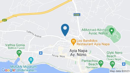 Florea Hotel Apartments Map