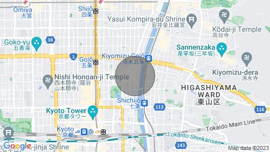Kumo Machiya Kamogawa Map