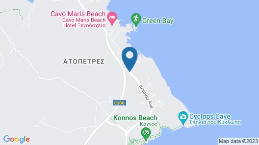 Coralli Spa Resort & Residence Map