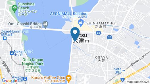 Hotel Atlantis Otsu - Adults Only Map