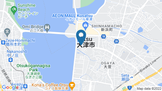 Hotel Lotus Otsu  - Adult only Map