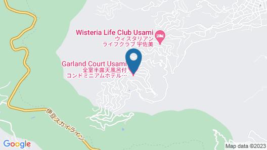 Condominium Hotel Garland Court Usami Map