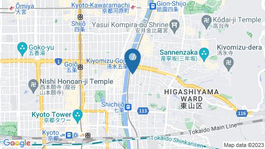 Seikoro Ryokan Map