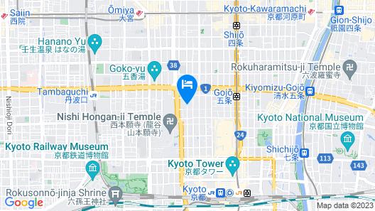 ORIENTAL HOTEL KYOTO ROKUJO Map