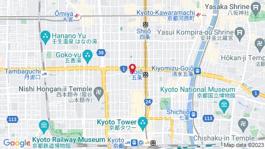 Gagakuan Map