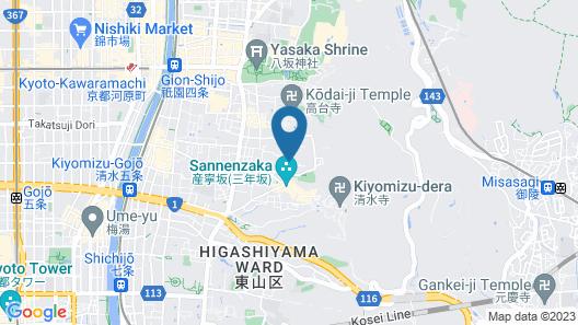 MINSYUKU KIYOMIZUSANSO Map