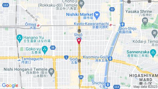 kyoto ITOYA hotel Map