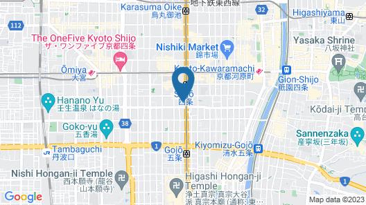 NEST HOTEL KYOTO SHIJOKARASUMA Map