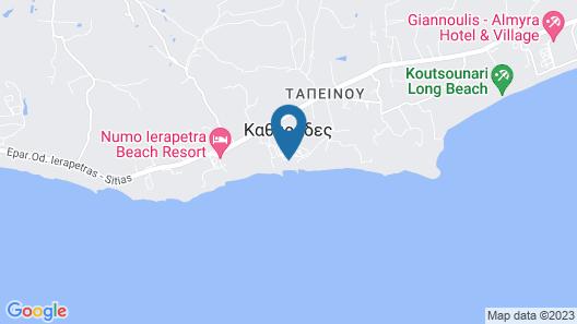 Ostria Resort & Spa Map