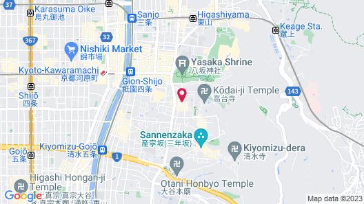 Tsukimi Hotel Map