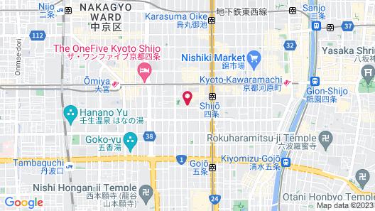 Apartment Hotel 7key S Kyoto Map