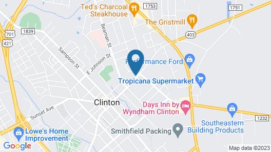 The Ashford Inn Map