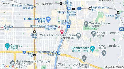 Aoi HOTEL KYOTO Map