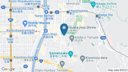 Gion Hatanaka Map