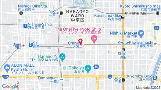 Hotel M's Plus Shijo-Omiya Map