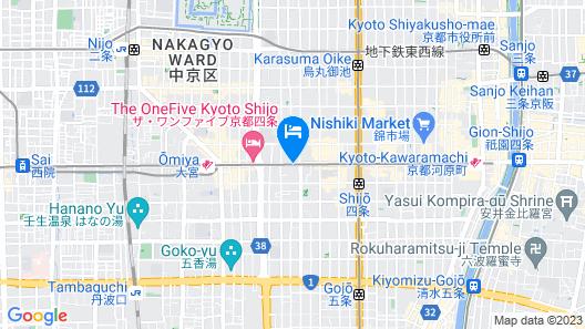 Smile Hotel Kyoto-shijo Map