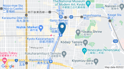 BOOK AND BED TOKYO -KYOTO - Hostel Map