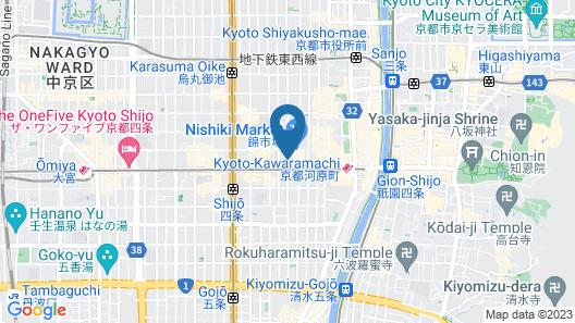 THE POCKET HOTEL Kyoto-Shijokarasuma Map