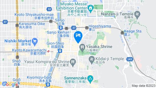Kyoto Inn Gion Map