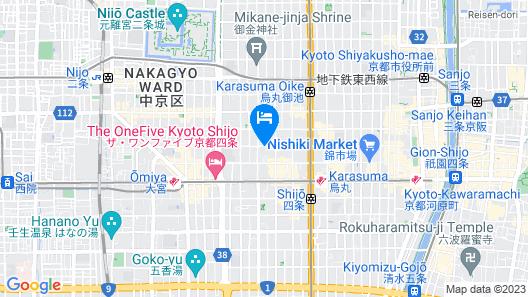 Kumo Machiya Fudocho   Map