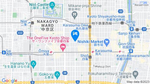 Rinn Shijo Nishinotoin Map