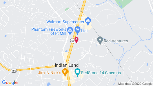 TownePlace Suites by Marriott Charlotte Fort Mill Map