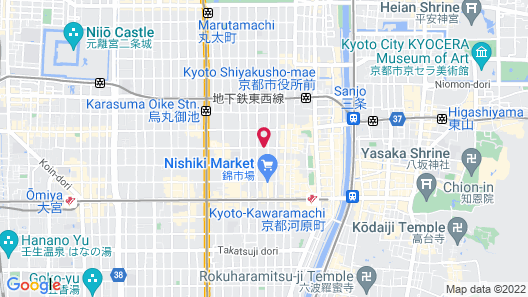 R&Run Kyoto serviced apartment & suites Map