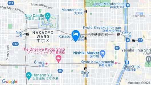 MIMARU KYOTO SHINMACHI SANJO Map