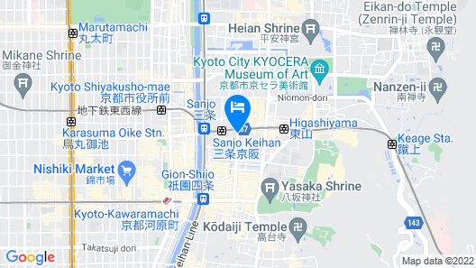 Gion HANNA STAY Map