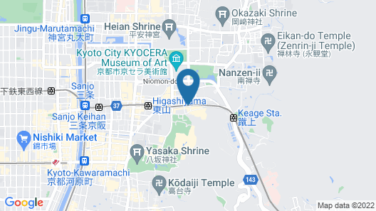 HOTEL MATERIAL Map