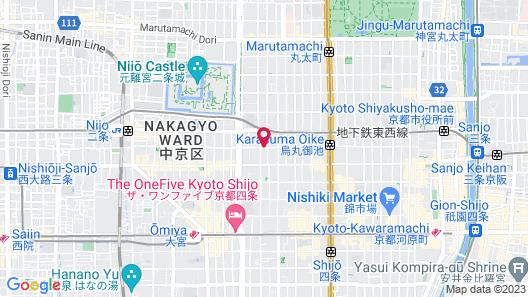 GRACE VILLA Nijo-jo Castle Map